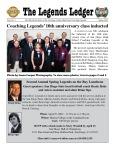 Coaching Legends Newsletter